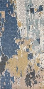 Abstract Multi color rug