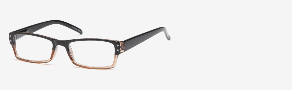 gamma ray stylish reading glasses allow you to see better with multiple magnification options