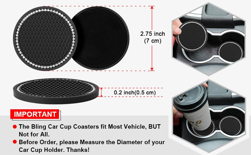 car accessories cup holder insert