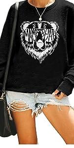 Mama Bear Crewneck Pullover