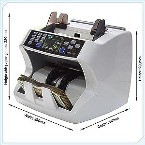 Compact machine size