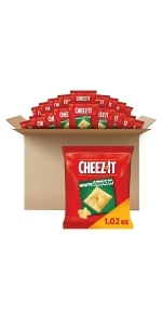 Cheez-It White Cheddar Crackers, 1.02 oz (40 Count)
