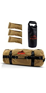 Small Fitness sandbags with kettlebell bag and 3 inner fillers sandbag weights for fitness pesas 5lb