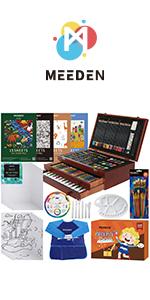 MEEDEN 215-Piece  Wooden Box Set