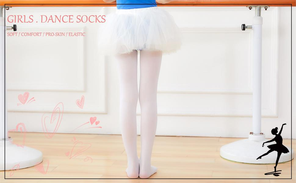 toddlers tights Ballet dance velvet little girl stocking footed leggings theatrical school pantyhose