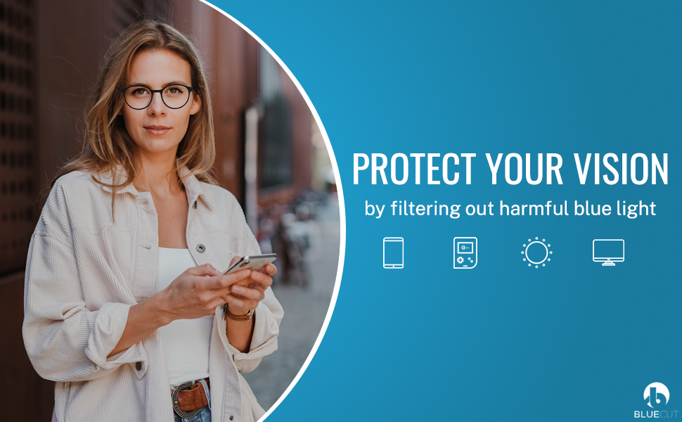 Protect your vision with oculy anti-uv lenses.