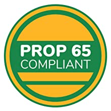 Prop 65 Compliant