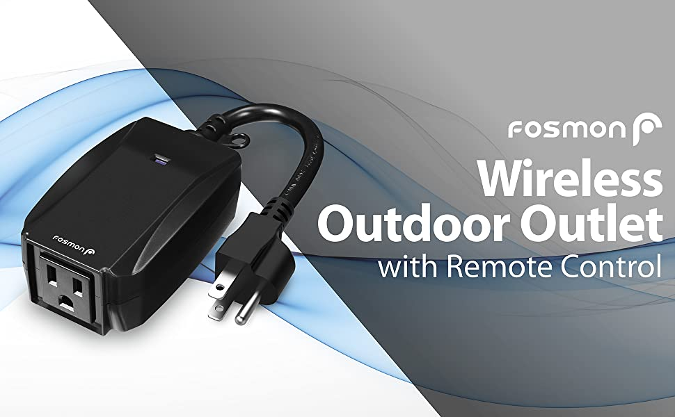 wireless outdoor outlet