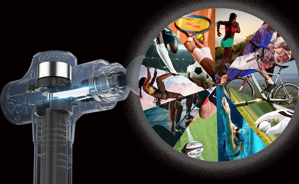 Le pistolet de massage TrainEatWell, partenaire idéal pour tout sportif