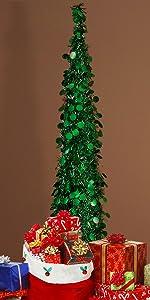 Joy-Leo 5ft Pop Up Chrismtas Tree - Green