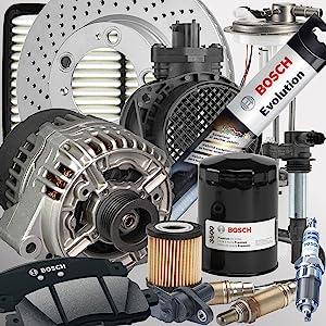 Bosch Auto Parts - Brakes Alternators Starters Wipers Filters Spark Plugs Sensors