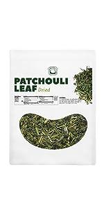 Dried Patchouli Leaf
