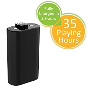 XBOX ONE BATTERY PACK PLAYING TIME