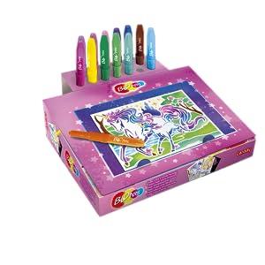 Blopens Super centre d'activités féerique, dessin, enfants, 5 ans, activités, couleurs