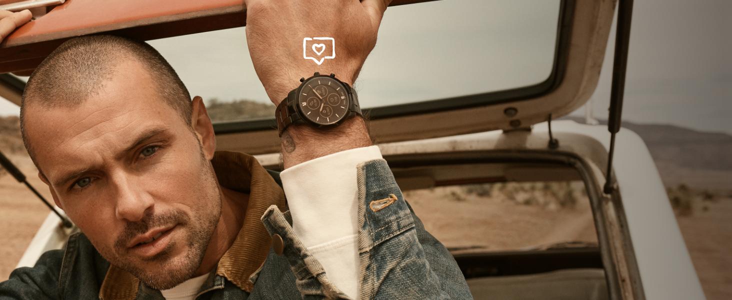Hybrid HR Smartwatch