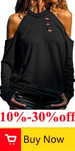 cold shoulder tops