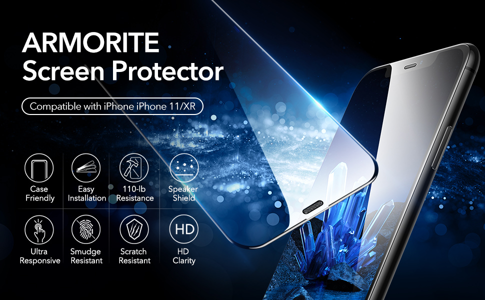 iphone 11 screen protector, iphone xr screen protector