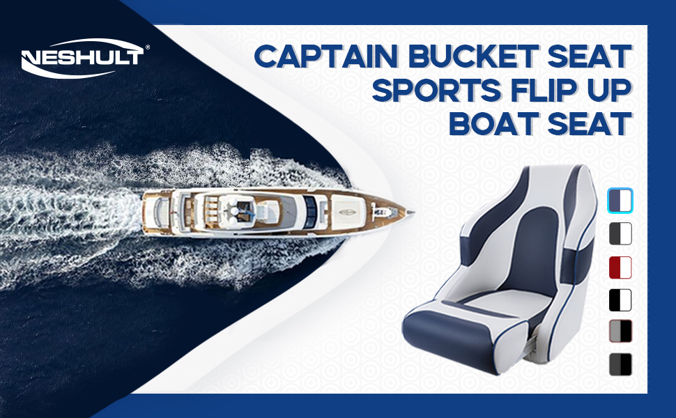 captain boat seat