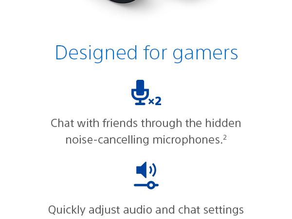 Designed for gamers