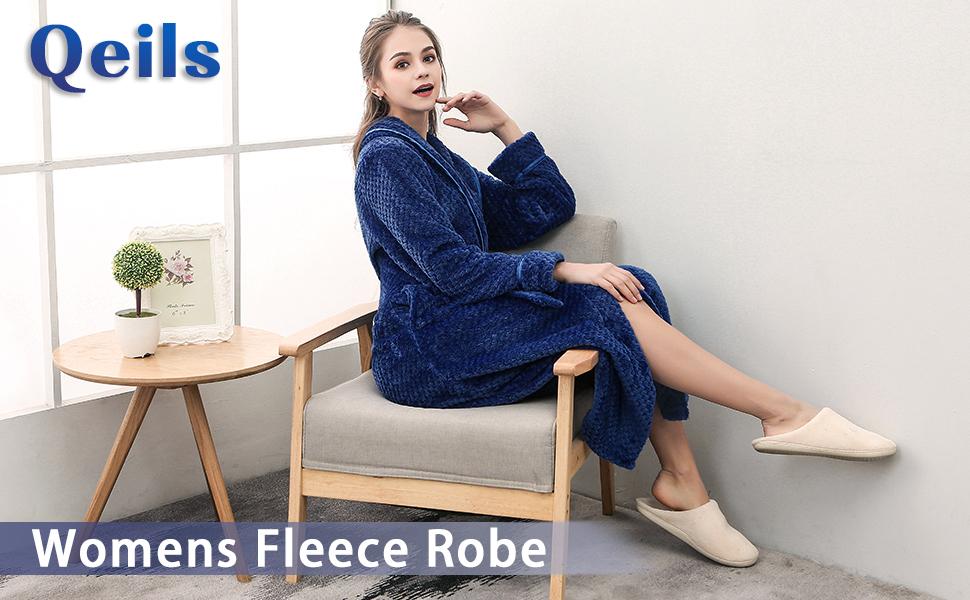 Womens Fleece Robe