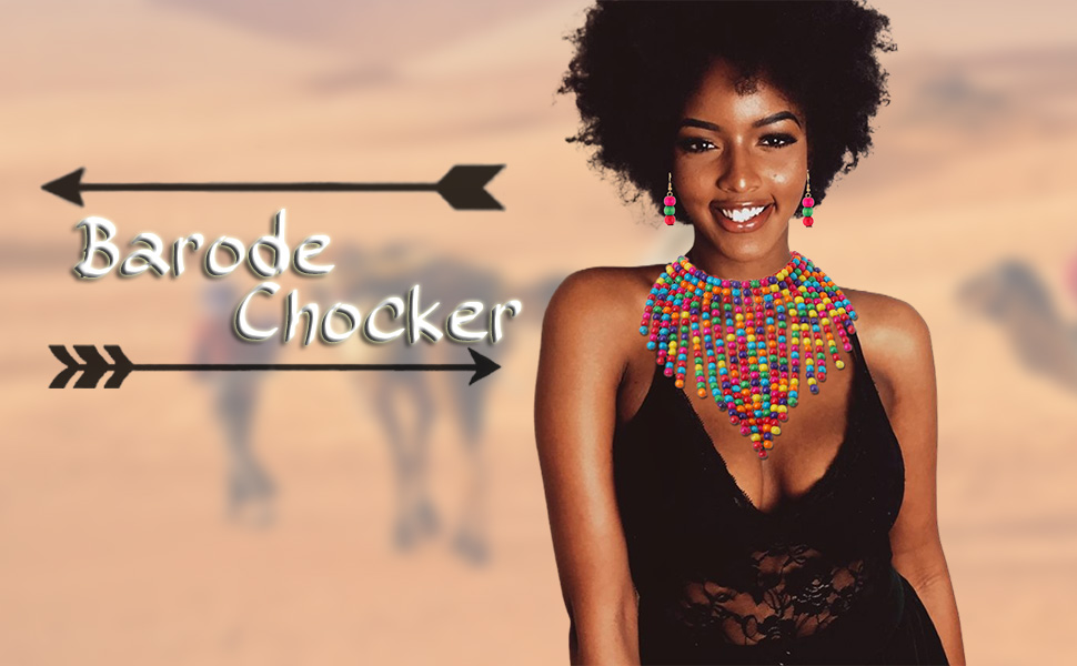 Afican Choker Necklace
