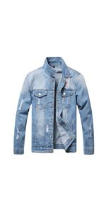 Ripped denim jackets