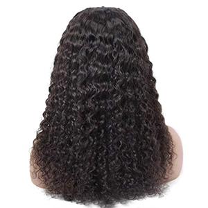 U part human hair wig, water wave wigs