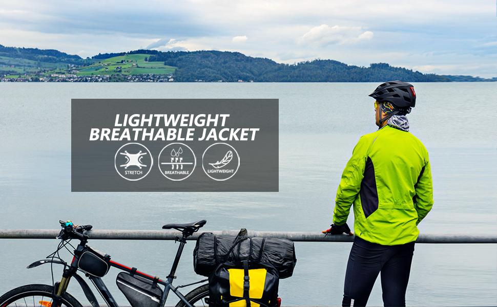men lightweight running jakcet