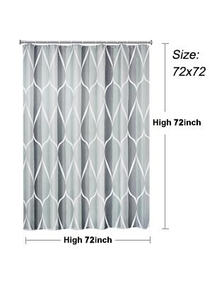 grey shower curtains for bathroom