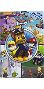 PAW Patrol - Little Look and Find Activity Book