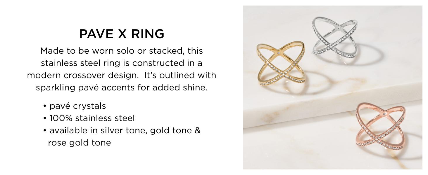 Michael Kors Pave Rings