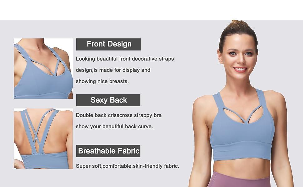criss cross bra cute bra workout running bras