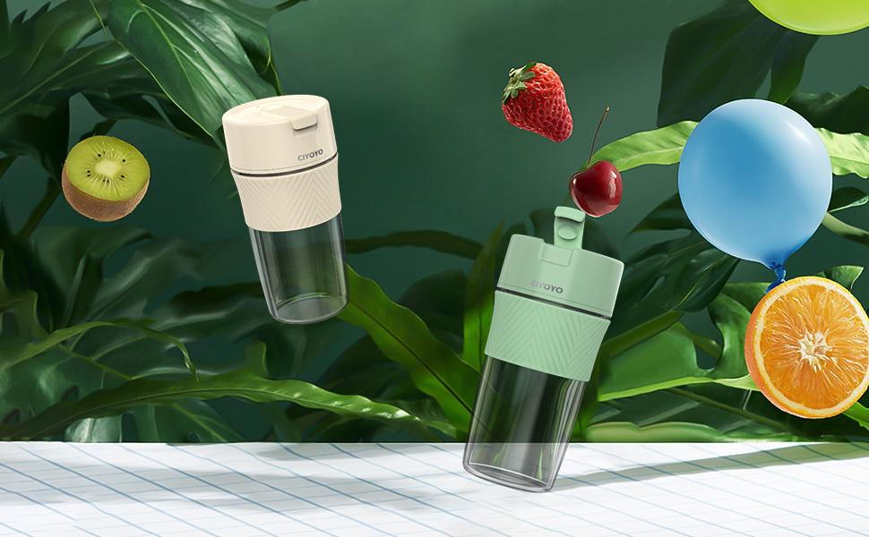 Personal Size Blender Shakes and Smoothies Mini Jucier Cup USB Rechargeable Blender
