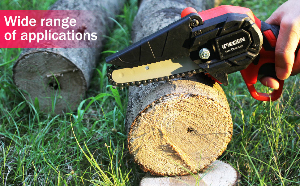 Widely used hand-held chainsaw