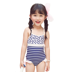 heart pattern swimsuits