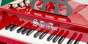 Schoenhut Baby grand Piano keys Keyboard