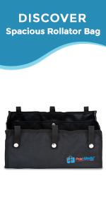 Spacious Rollator Bag