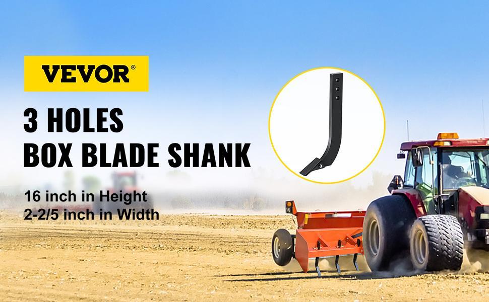 box blade shank