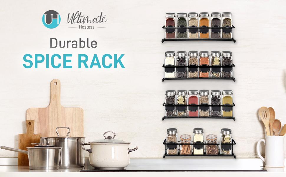 spice rack wall mount