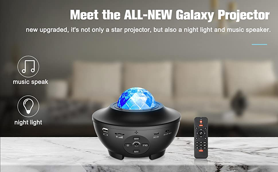 Meet the ALL-NEW Galaxy Projector