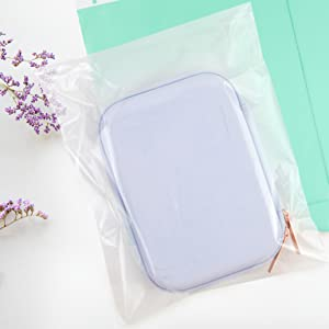 clear self-seal poly bags by Retail Supply Co