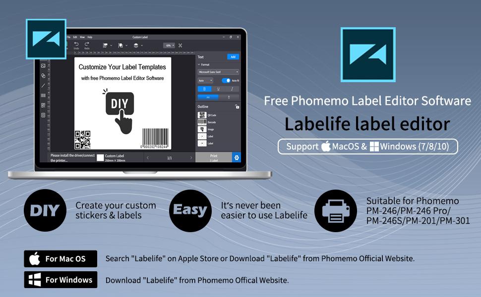 label editor