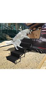 widen dog steps