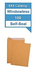 6x9 Catalog Envelopes