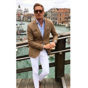 mens one button sports jackets