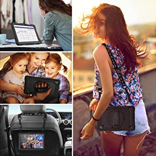 SEYMCY iPad 8th 7th Generation 10.2 inch Case Shockproof Kids
