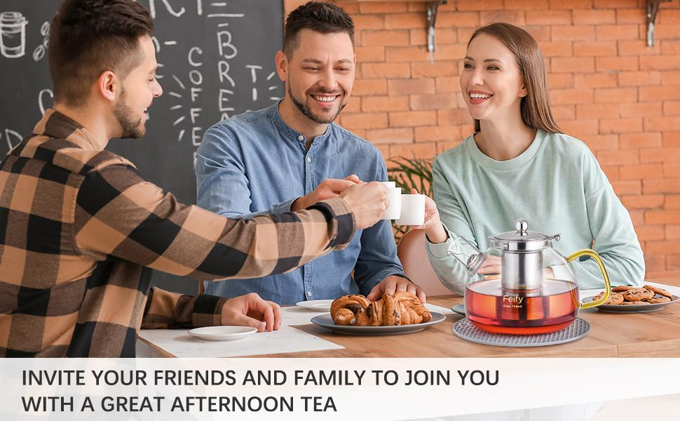 tea lover tea maker family friends tea party afternoon tea