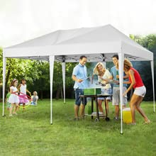 Sun shelter for camping, BBQ