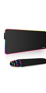 RGB Tapis de Souris Gaming