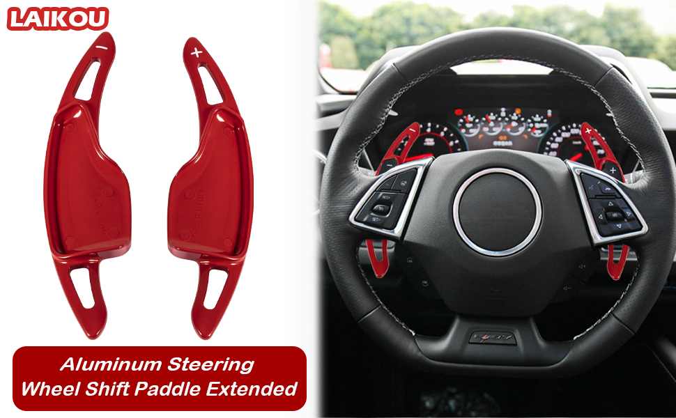 Steering Wheel Shift Paddle Extended for chevy Camaro